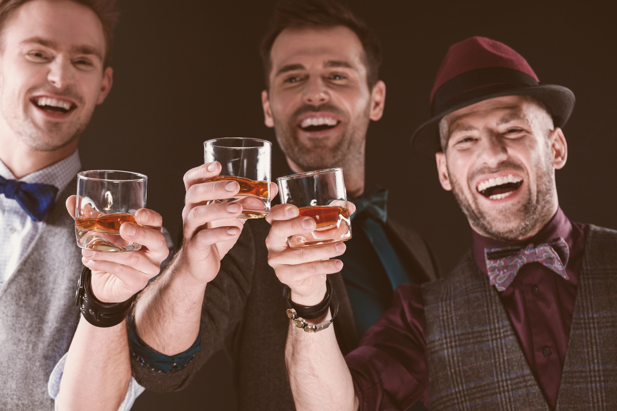 De olika whiskeysorterna